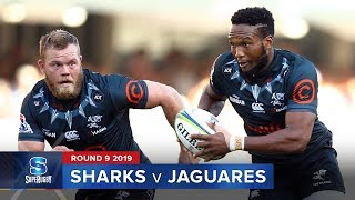 Sharks v Jaguares | Super Rugby 2019 Rd 9 Highlights