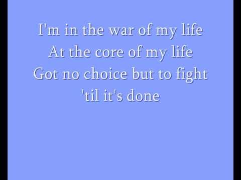 John Mayer  War Of My Life Lyrics