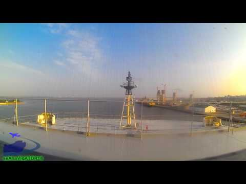 Docking maneuver (Port of Maputo, Mozambique)
