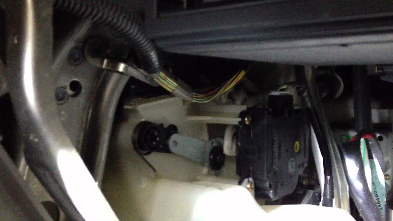 hight resolution of 1999 lexus rx300 bad failing mode servo motor