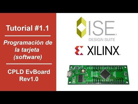 Tutorial #1.1   Programación de la tarjeta (software)   CPLD EvBoard thumbnail