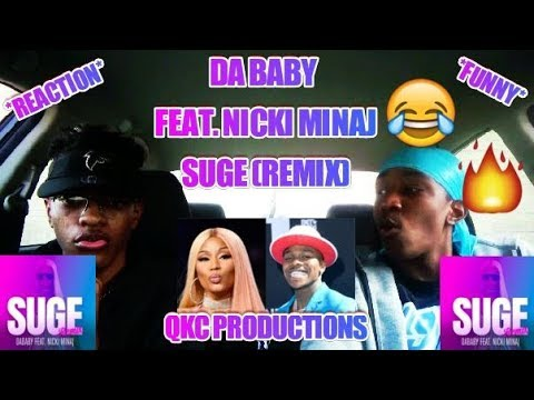 dababy---feat.-nicki-minaj---suge---remix---reaction