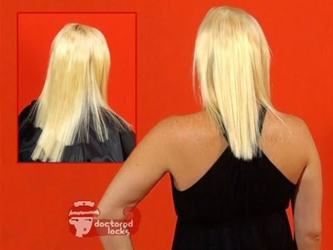 How to Fix a Bad Extension Hair Cut Tutorial - DoctoredLocks com