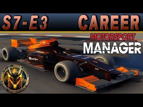 Motorsport Manager PC Career Mode S7E3 - THEIR ENGINES ARE SMOKING!