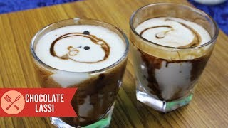 Healthy Summer Special Chocolate lassi, learn chocolate lassi in easy steps