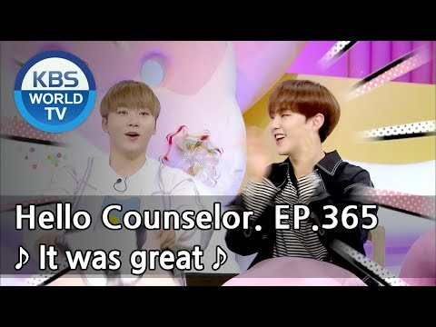 I'm the main vocalist, but my throat... I will try! [Hello Counselor Sub: ENG,THA/2018.05.21]