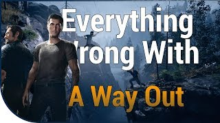 GAME SINS | Everything Wrong With A Way Out