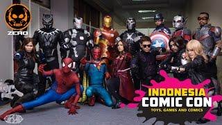 Marvel Civil War Cosplay Showcase @ Indonesia Comic Con 2016