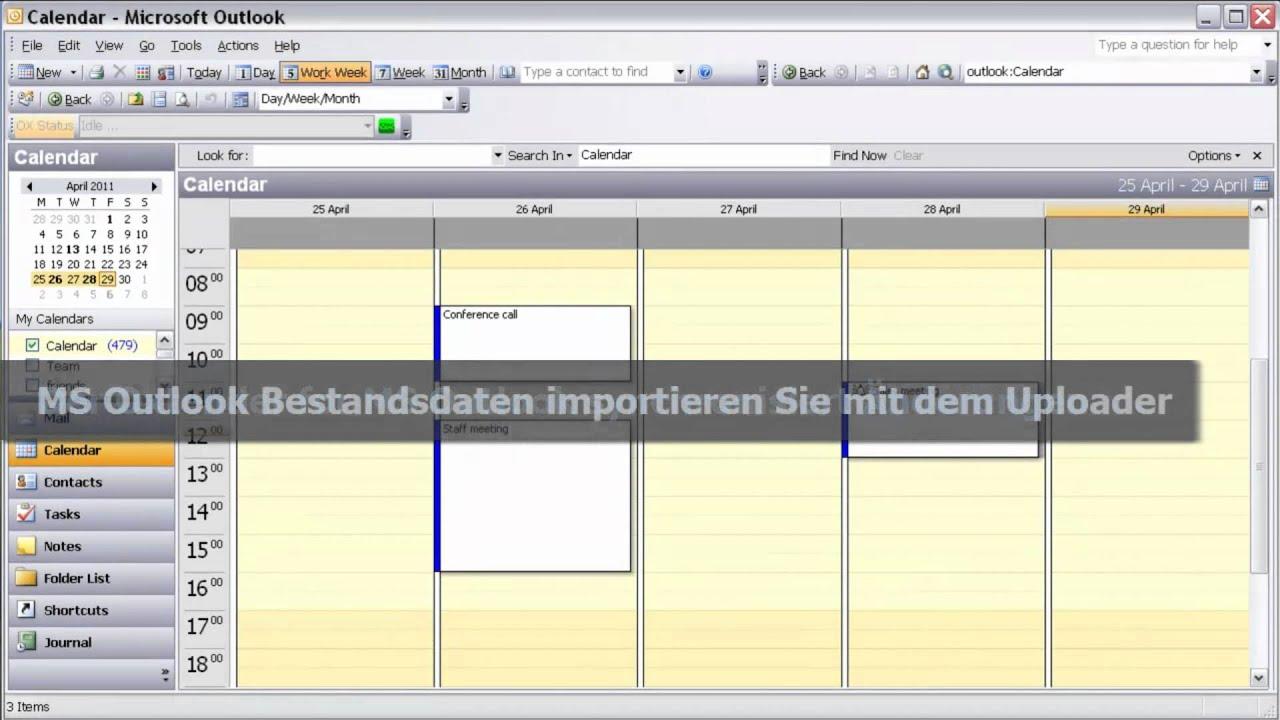 Open-Xchange Groupware - Outlook Integration - YouTube