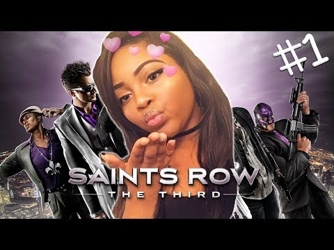 SAINTS ROW: THE THIRD WITH DEESIMS!! 💜| LET'S GET IT!