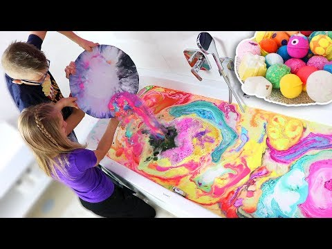 BATH BOMB ART CHALLENGE!!!!