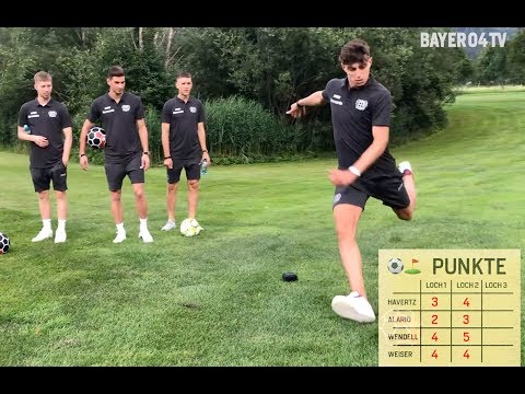 Havertz Vs Alario Vs Weiser Vs Wendell Fussball Golf