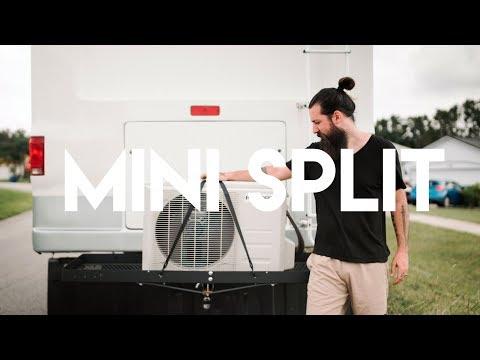 RV / Motorhome Mini Split Air Conditioning Setup
