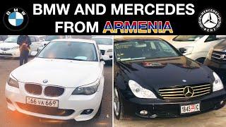 BMW И MERCEDES КУПИТЬ АВТО В АРМЕНИИ / АВТОРЫНОК АРМЕНИИ МАРТ, АПРЕЛЬ 2020