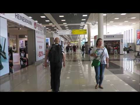 Inside Sheremetyevo International Airport SVO, Moscow Russia