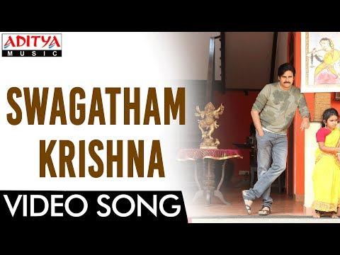 Swagatham Krishna Video Song || Agnyaathavaasi Video Song || Pawan Kalyan, Keerthy Suresh || Anirudh