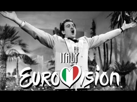 Eurovision Song Contest | Italy (1956 - 2018) | All The Entries