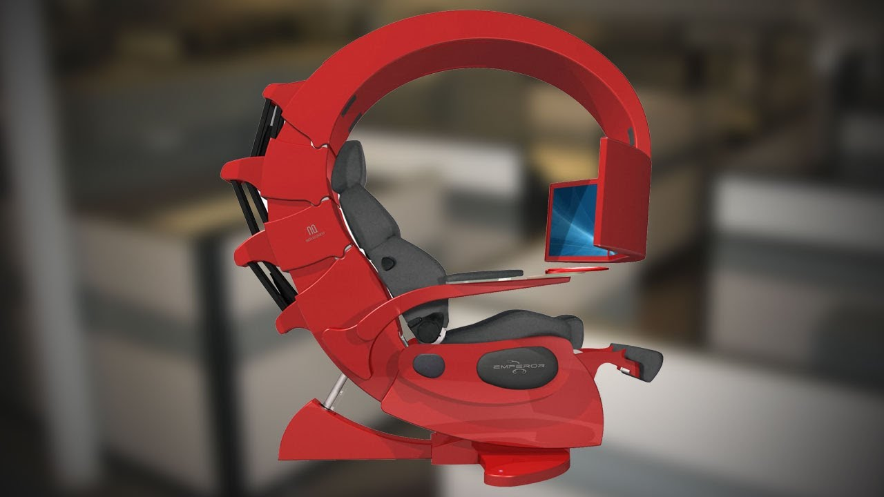 Bon Hak5   The Perfect Work Station Chair For Programmers And Gamers: Emperor  1510 At 2012   YouTube