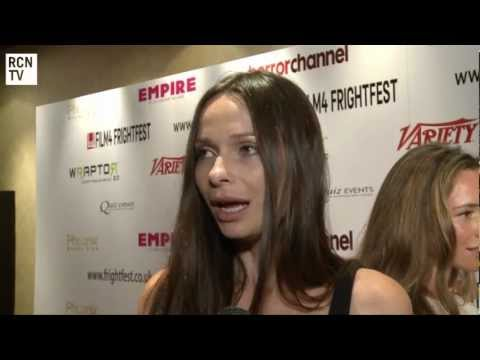 Anna Walton   The Seasoning House & Hellboy 3  FrightFest 2012