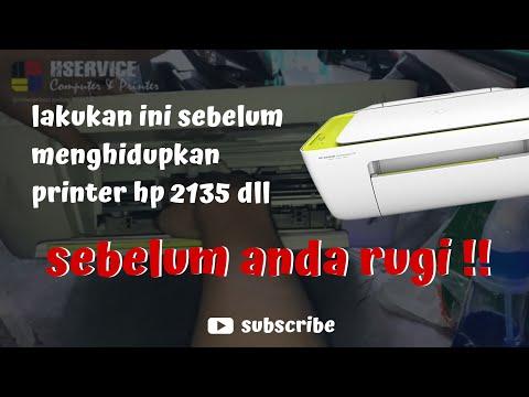 perbaiki printer blinking 3 LED HP deskjet ink advantage 2135.