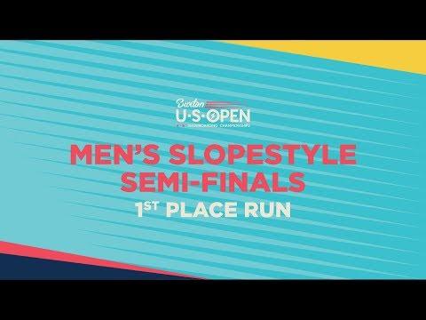 2019 Burton U·S·Open Men's Slopestyle Semi-Finals – 1st Place Run