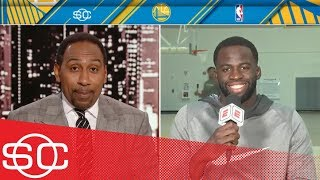 Draymond Green responds to Stephen A. saying Warriors might have 'competition' | SportsCenter | ESPN