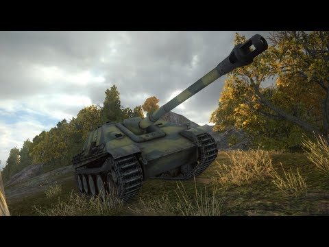 ◀World of Tanks - JagdPanther On The Prowl
