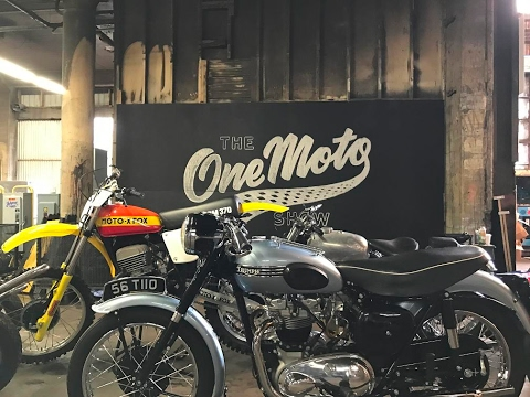 The One Motorcycle Show, Portland Oregon, 2017
