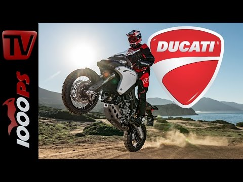 Ducati Multistrada 1200 Enduro Test 2016 | Offroad, Action, Fazit
