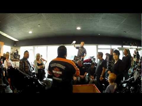 Rolling Thunder Christmas 2011 Harley Davidson Giveaway
