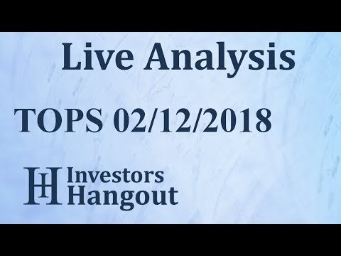 TOPS Stock TOP Ships Inc. Live Analysis 02-12-2018