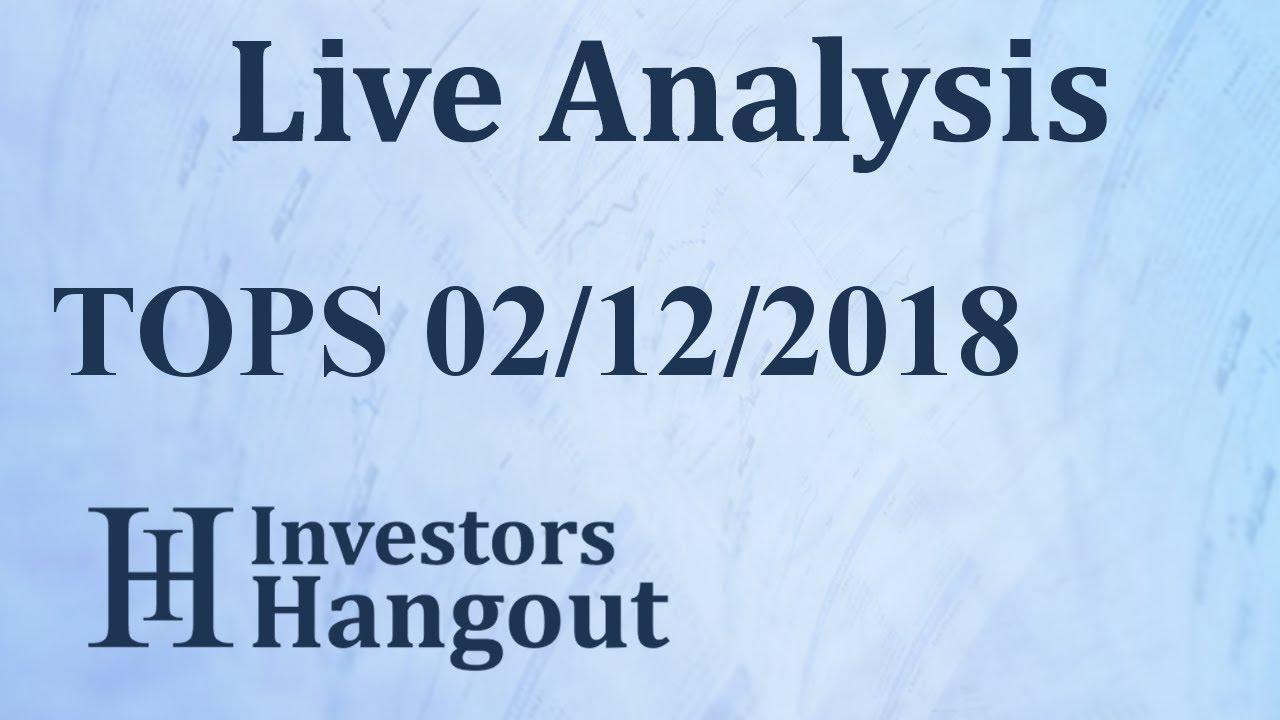 TOPS Stock TOP Ships Inc  Live Analysis 02-12-2018