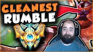 MY NEW MAIN? RUMBLE BURNING TO CHALLENGER! THE CLEANEST RUMBLE TOP GAMEPLAY! - League of Legends