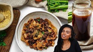 Delicious Vegan Broth Recipe & Epic Vegan Ragu