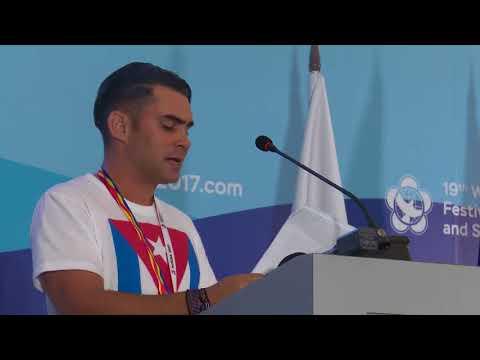 Elián González, en Sochi, denunció al imperialismo