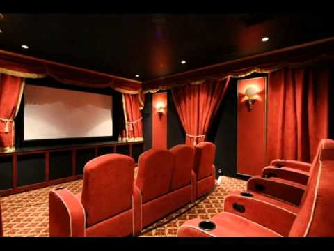 home theater ideas for small rooms - YouTube