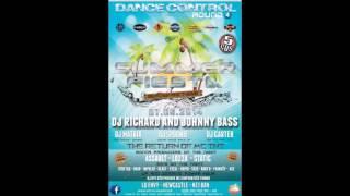 MONTA MUSICA / DANCE CONTROL ROUND 4 SUMMER FIESTA FEATURING D.RICHARD & JOHNNY BASS 7TH JUNE 2014