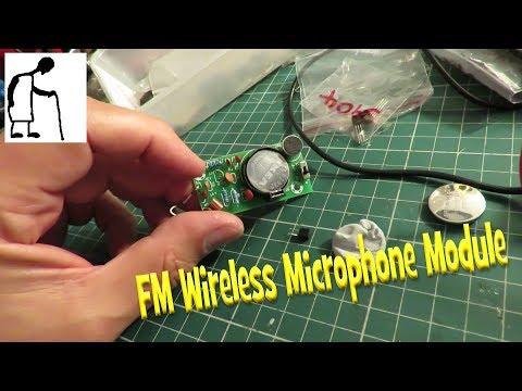 FM Wireless Microphone Module