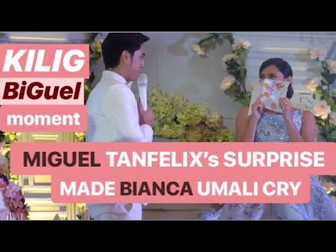 KILIG | MIGUEL Tanfelix's PROPOSAL and SURPRISE made BIANCA Umali cry at #SimplyBianca Celebration