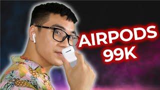 Tai nghe Airpods 99k mua trên Shopee