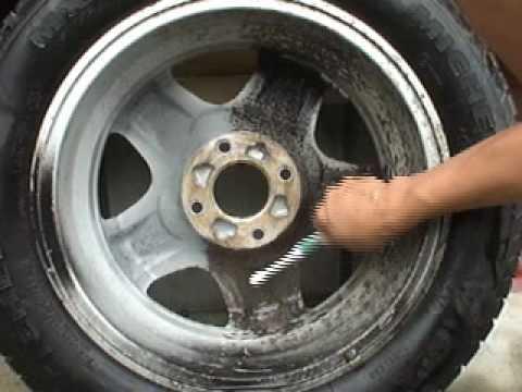 ブレーキダストリムーバーでのホイールの鉄粉除去 - YouTube