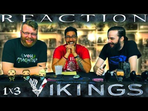 "Vikings 1x3 REACTION!! ""Dispossessed"""