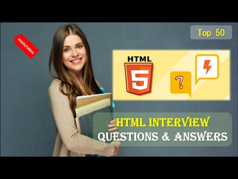 Top 50 HTML Interview Questions & Answers In HINDI Part 1