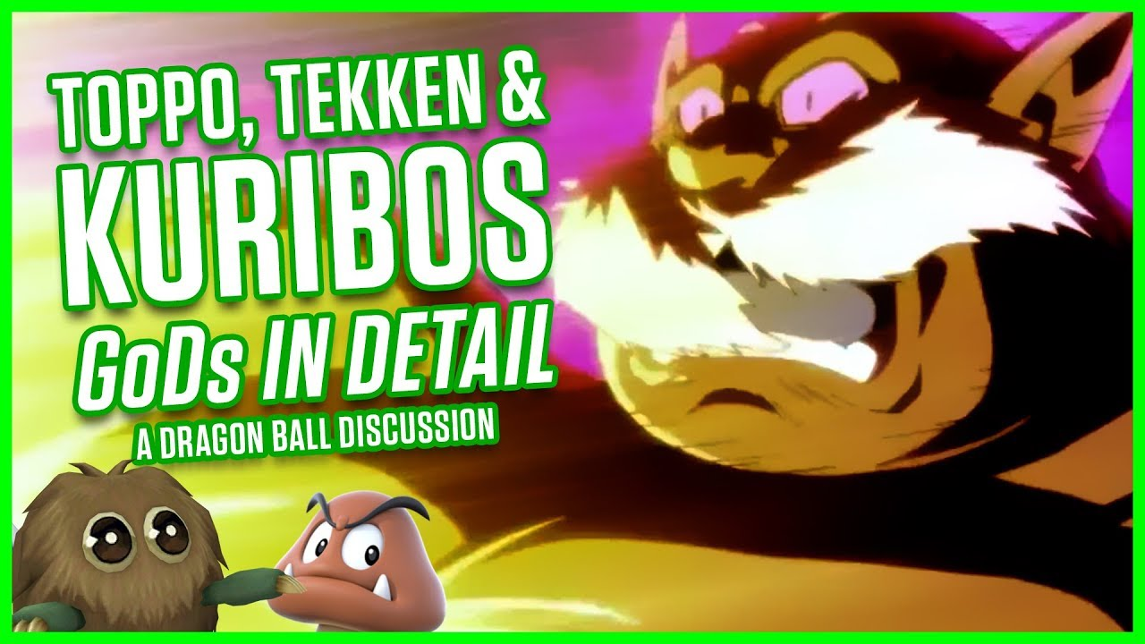 toppo tekken kuribos a dragon ball discussion masakox youtube