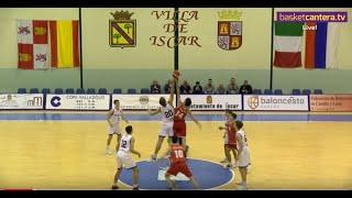 DIRECTO - U16M - ITALIA vs CASTILLA Y LEÓN. Torneo Internacional Cadete Íscar 2019(BasketCantera.TV)