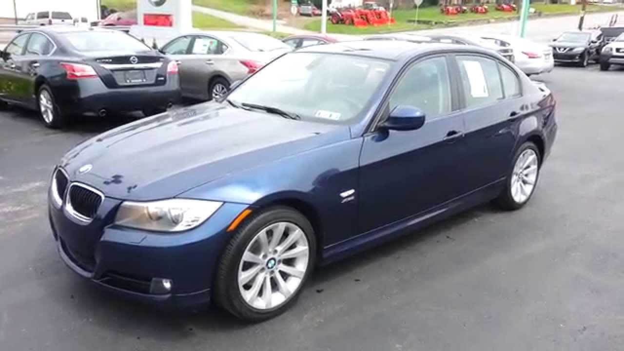 2011 Bmw 328i Xdrive Awd Deep Sea Blue Metallic Youtube