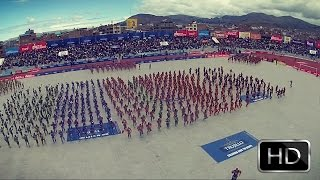 Caporales Centralistas 2015 - virgen de la candelaria Puno ★full HD★ (panoramico)