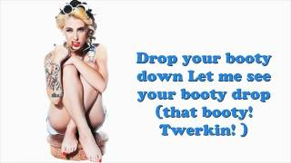 Watch Kreayshawn Twerkin video