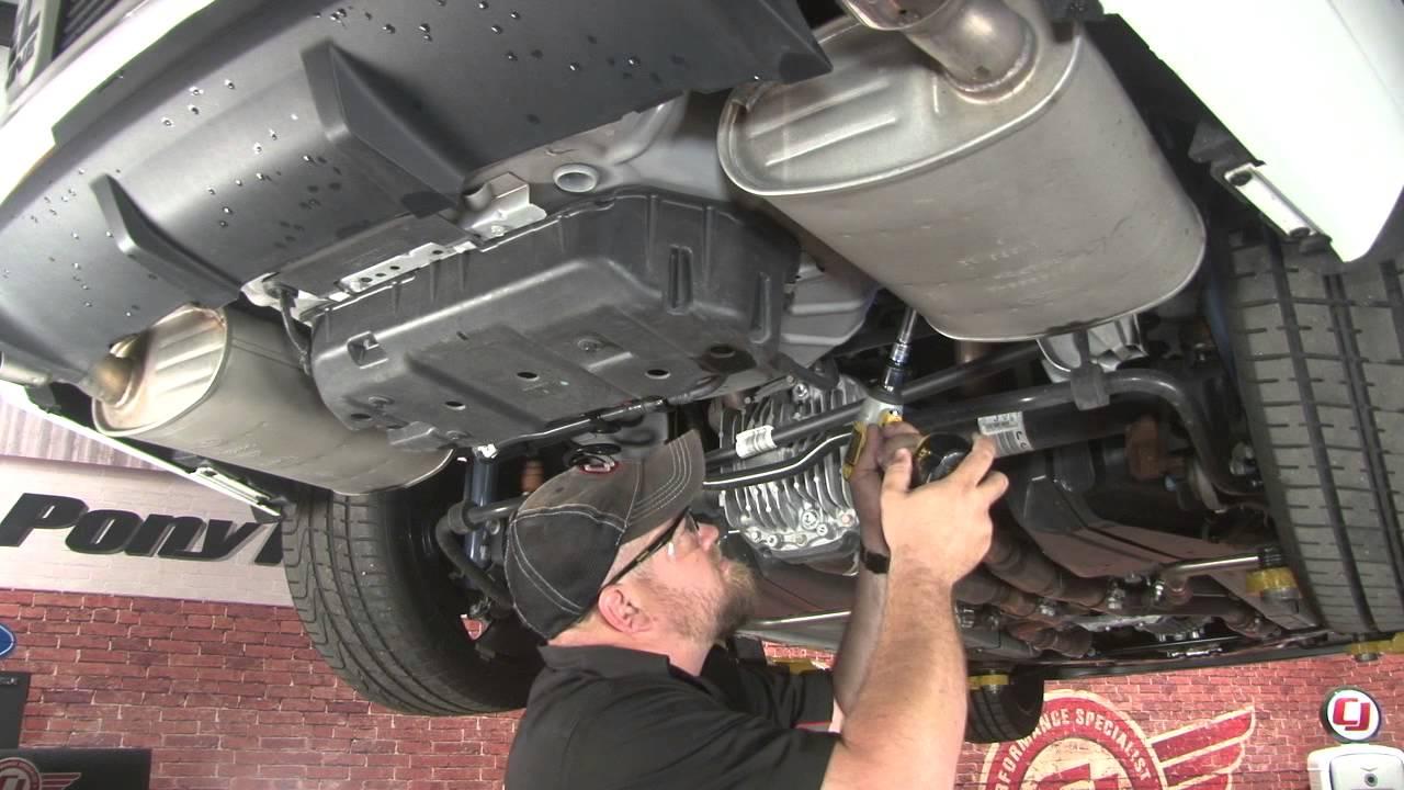 mustang gt borla s type stinger cat back exhaust system 2013 2014 installation