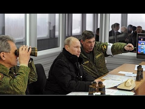 Putin organises surprise military exercises in the Leningradsky District of Russia - no comment